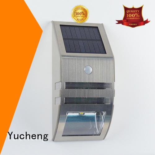 wall lights detector lamp Yucheng Brand solar powered sensor light supplier