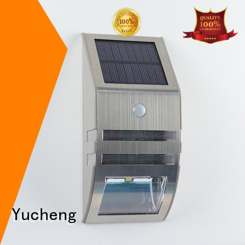 wall lights detector lamp Yucheng Brand solar powered sensor light supplier