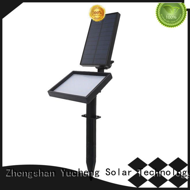 professional solar spotlights manufacturer for park