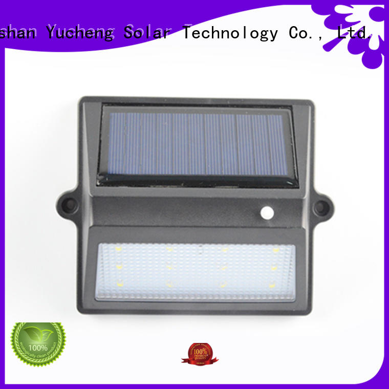 fence mounted solar lights lights light fence Yucheng Brand