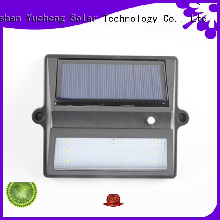 fence mounted solar lights lights light fence Yucheng Brand