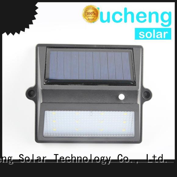 waterproof solar fence lights manufacturer for garden