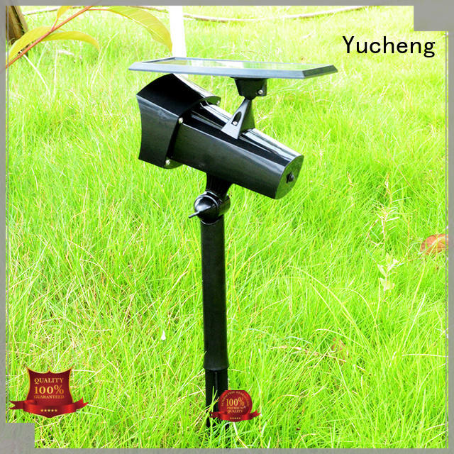with 48 LEDs solar powered outside lights vacuum plating for wall Yucheng