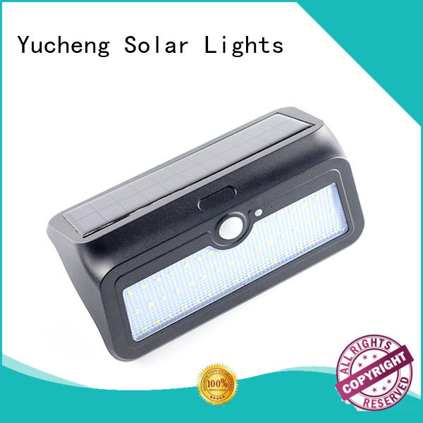 stylish outside solar wall lights with motion sensor supplier for garden