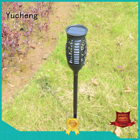 Yucheng lantern solar flame torch series for park