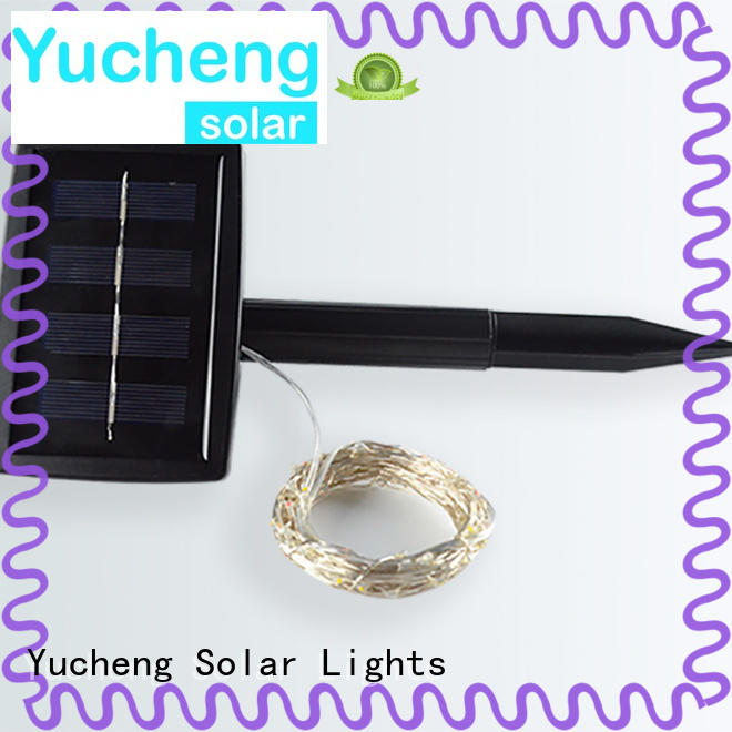 Yucheng solar lights string series for Christmas