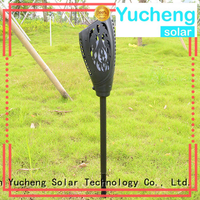 Yucheng cost-effective solar flame torch supplier for home