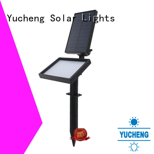 Yucheng cost-effective solar spotlight directly sale for wall