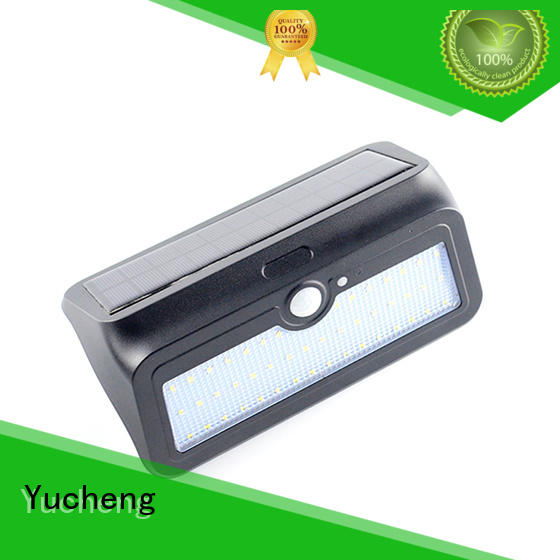 Yucheng stylish solar powered security lights wholesale for pathway