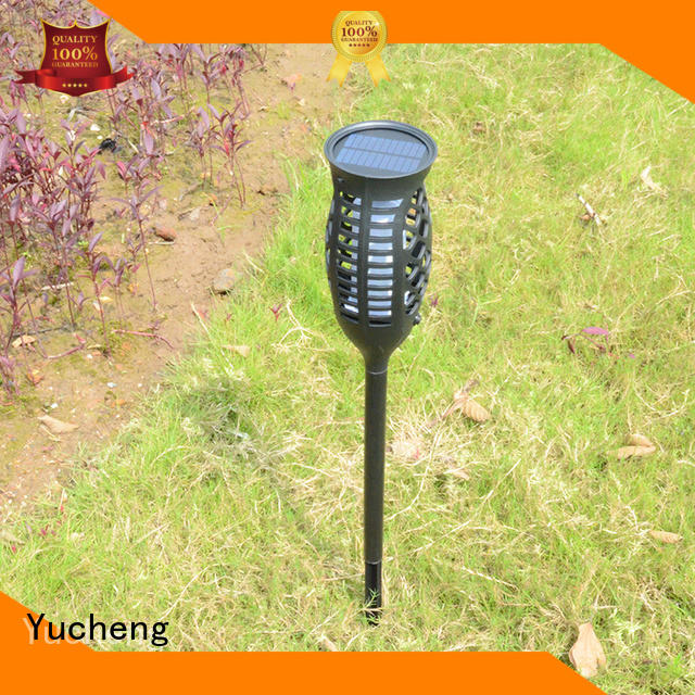 lamp lights solar garden lanterns torch charging Yucheng company