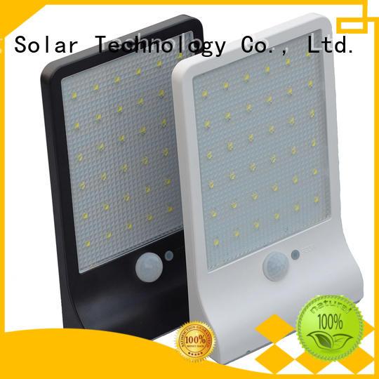 light outside solar wall lights with motion sensor mounting Yucheng company