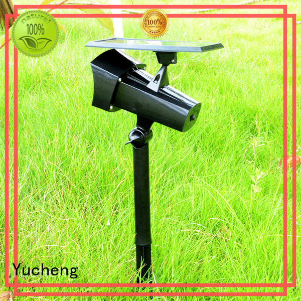 Yucheng vacuum plating solar lawn lights supplier for home