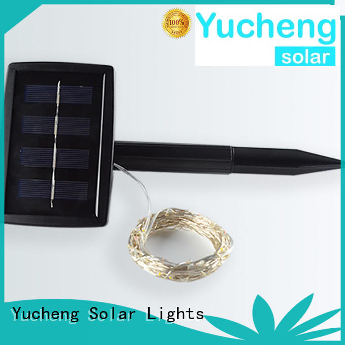 Yucheng eco-friendly solar lights string supplier for Christmas