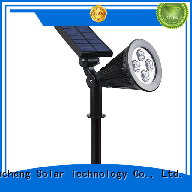 solar powered outside lights panel Yucheng Brand solar led garden lights
