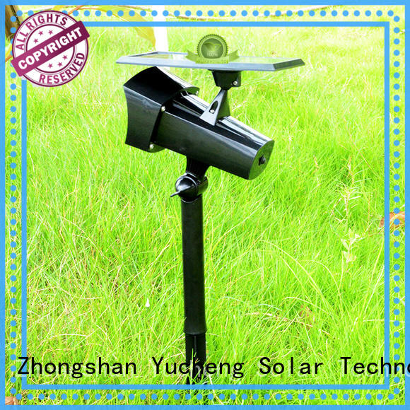 Yucheng cost-effective outdoor solar spot lights customized for wall