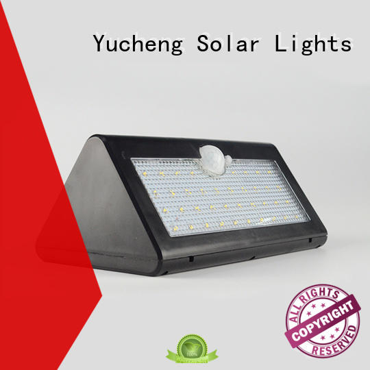 Yucheng professional stainless steel solar wall lights supplier for docks