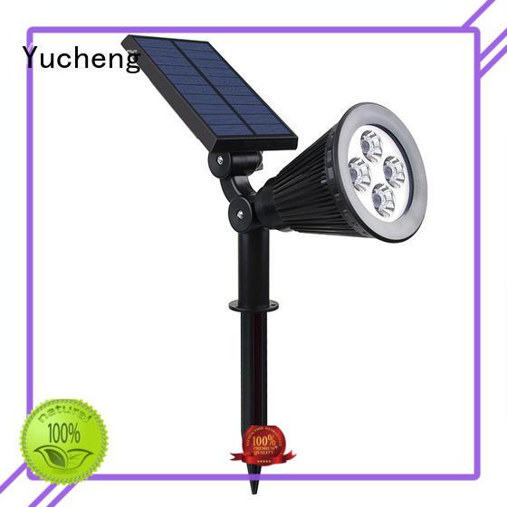 Yucheng outdoor solar spot lights directly sale for garden