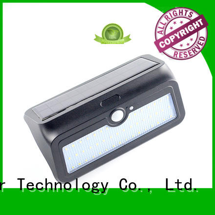 Yucheng Brand motion item detector solar powered sensor light manufacture