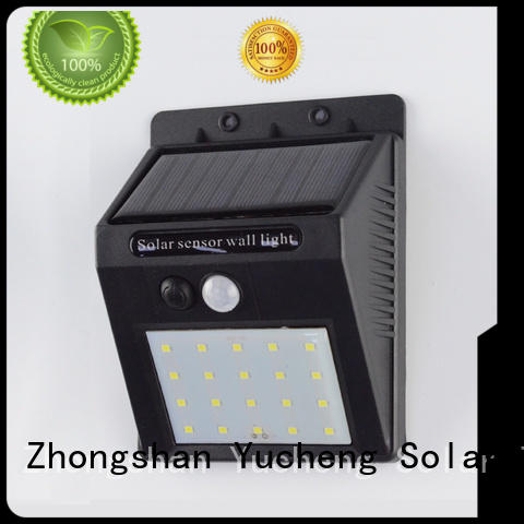 outside solar wall lights with motion sensor detector Bulk Buy exterior Yucheng