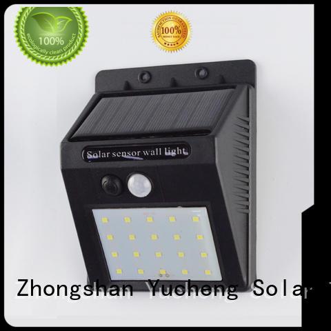 outside solar wall lights with motion sensor detector Bulk Buy exterior Yucheng