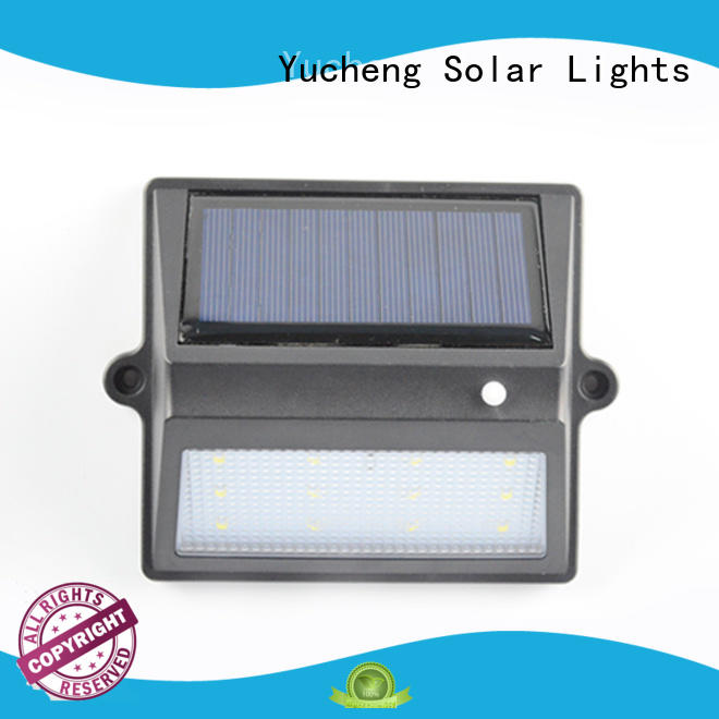 Yucheng excellent outdoor fence lighting directly sale for outdoor