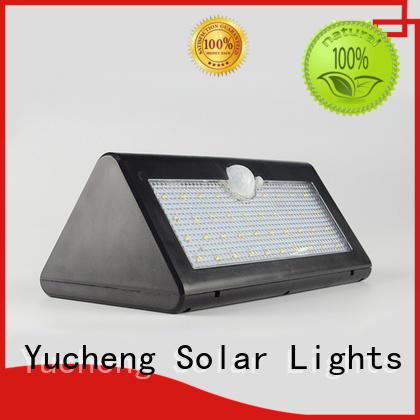 Yucheng solar led motion sensor light manufacturer for docks