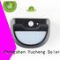 Yucheng Brand mounting square security solar powered sensor light