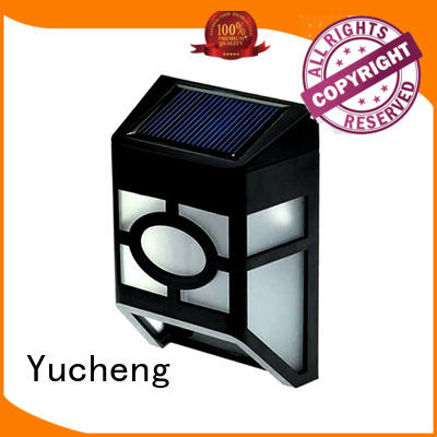 lighting solar fence mounted solar lights Yucheng Brand