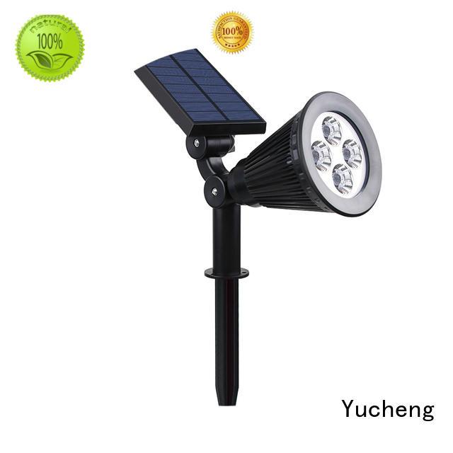 Hot solar led garden lights adjustable Yucheng Brand