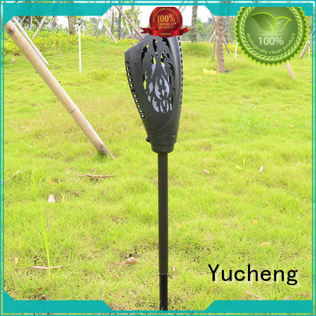 Yucheng durable solar flame light supplier for courtyards