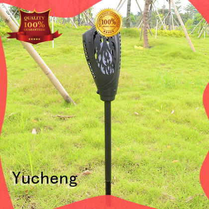 Yucheng vase shape solar garden lanterns supplier for courtyards
