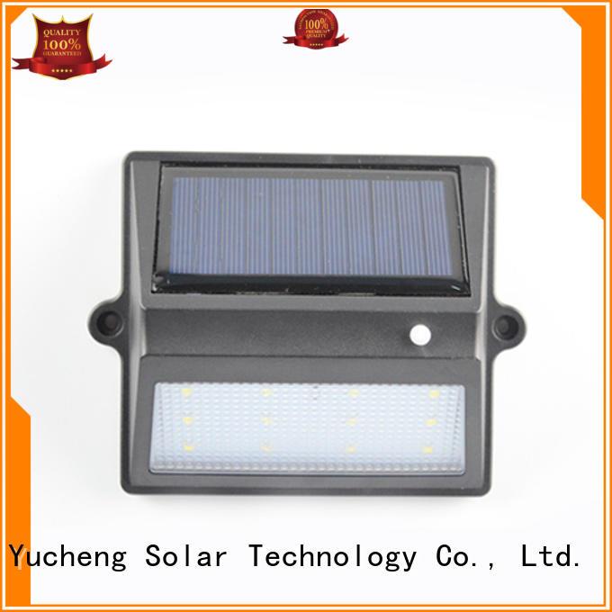 Yucheng Brand item solar wall fence mounted solar lights roof