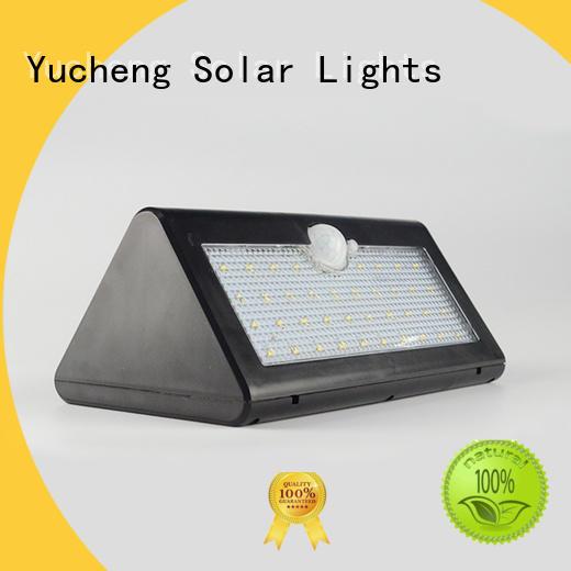 wireless solar led motion sensor light supplier for pathway