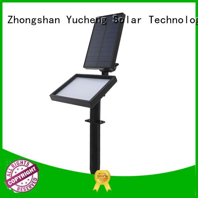 solar powered outside lights illuminates item powered Yucheng Brand company