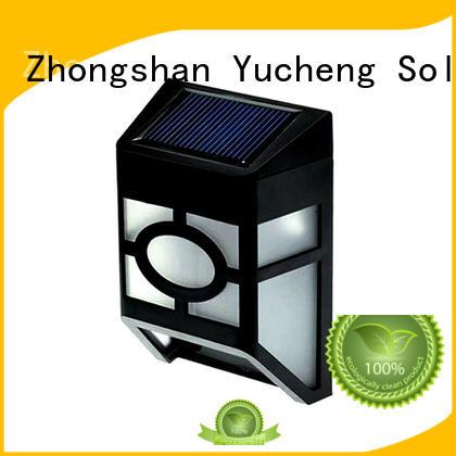 fence item Yucheng Brand fence mounted solar lights factory