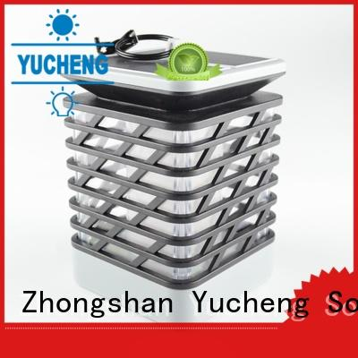 Yucheng convenient solar flame light series for park