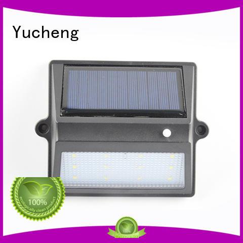 fence wall lights roof Yucheng Brand solar garden fence lights supplier