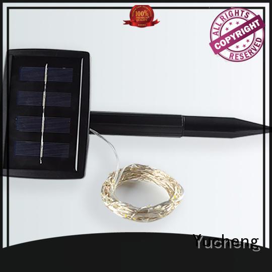 solar powered string lights factory for shop windows Yucheng