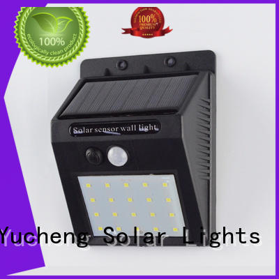 semicircular solar motion sensor light customized for docks