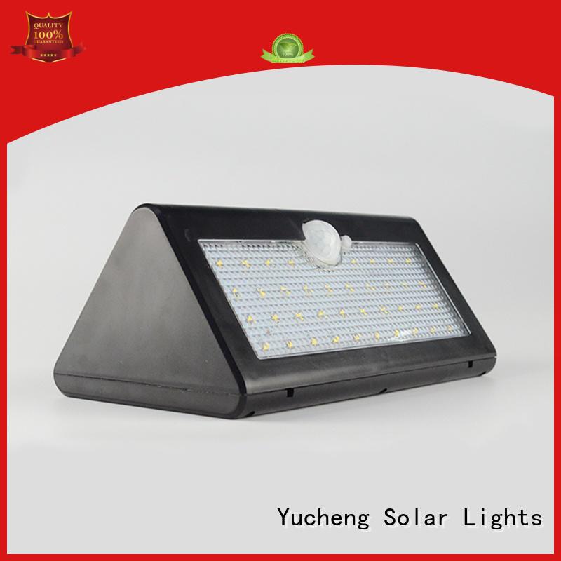 Yucheng solar sensor light customized for stair