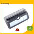 Yucheng Brand solar security custom outside solar wall lights with motion sensor