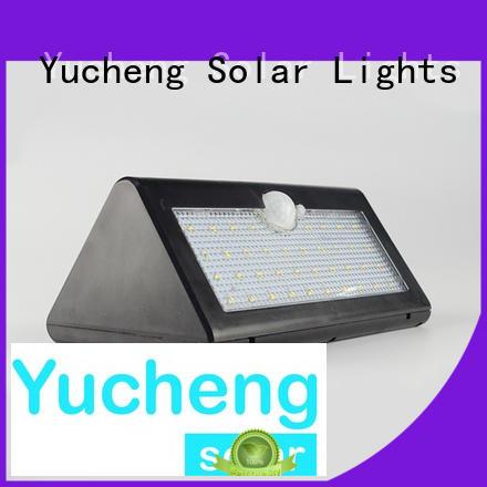 Yucheng solar led lights outdoor wholesale for docks