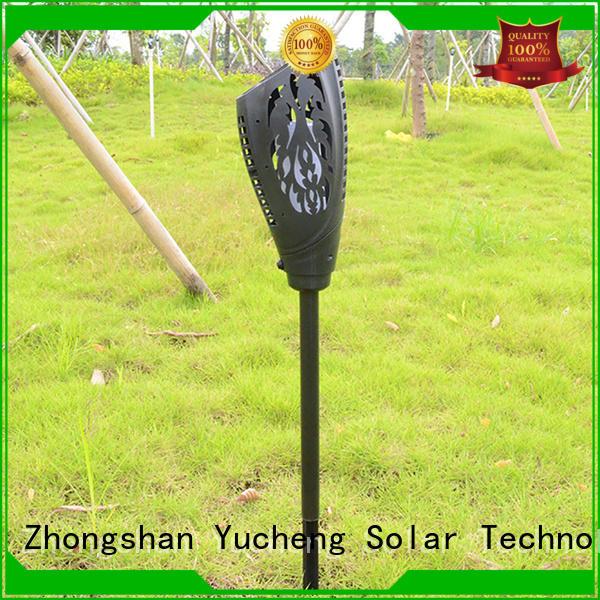solar flame flickering lamp torch lights light wall Yucheng Brand