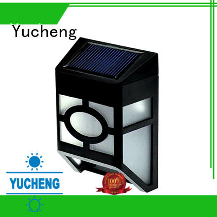 Yucheng solar garden fence lights directly sale for outdoor