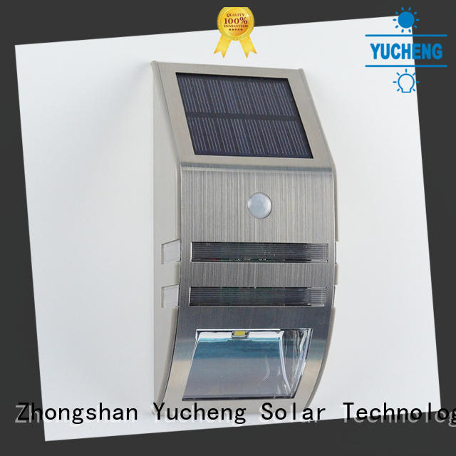 Yucheng solar powered sensor light supplier for docks