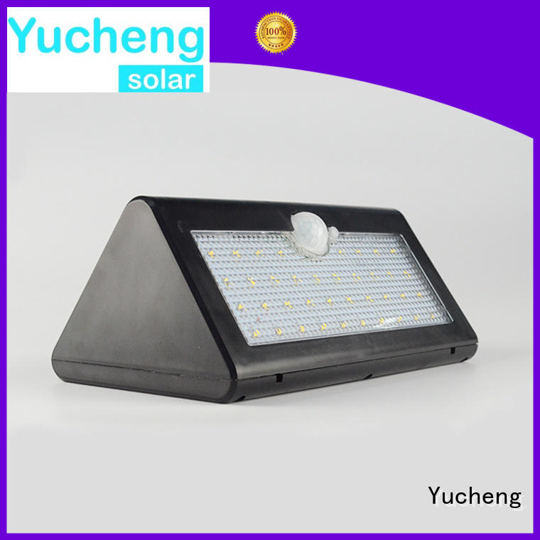 outside solar wall lights with motion sensor led sensor Warranty Yucheng