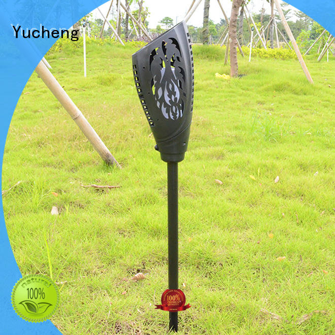 Yucheng solar flame torch directly sale for park