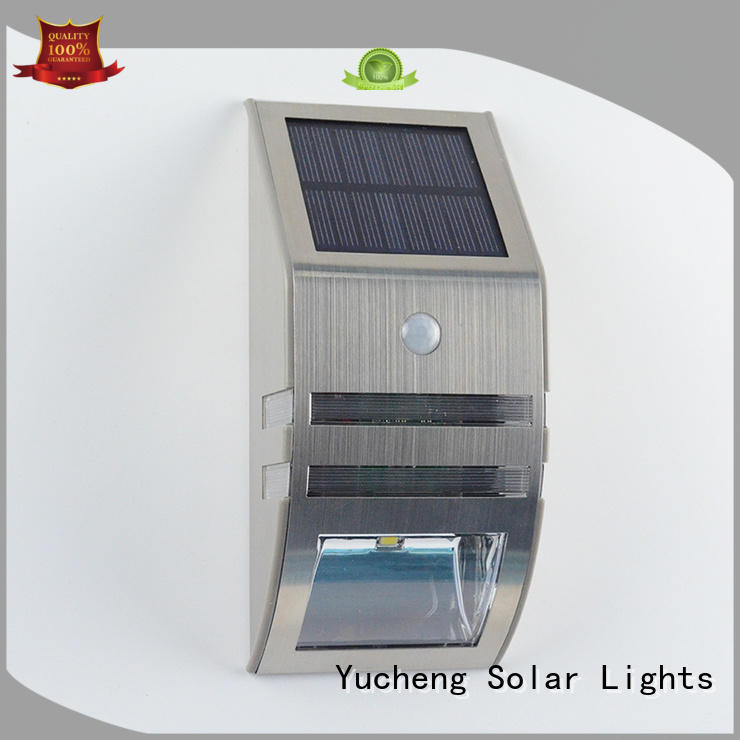 stylish solar sensor wall light wholesale for stair