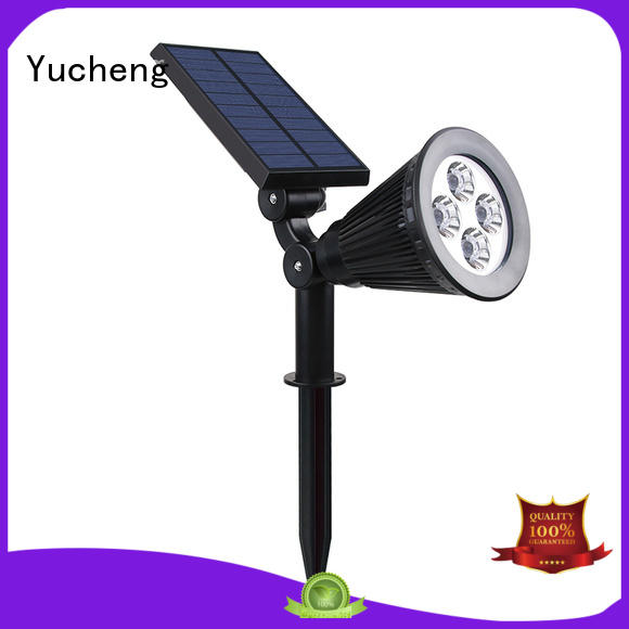 Yucheng solar led garden lights customized for home