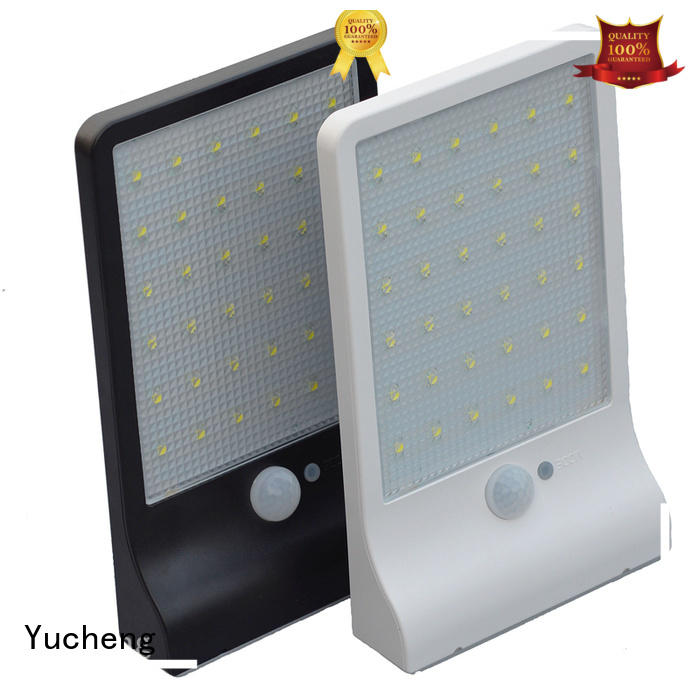 Wholesale leds semicircular solar powered sensor light Yucheng Brand